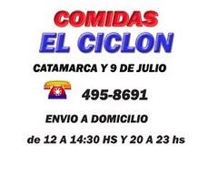 COMIDAS EL CICLON