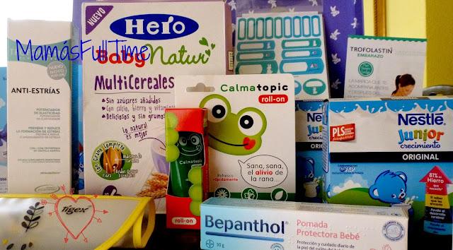 Cajas mamás full time regalos maternidad