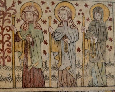 sankta birgitta och katarina i Götene kyrka