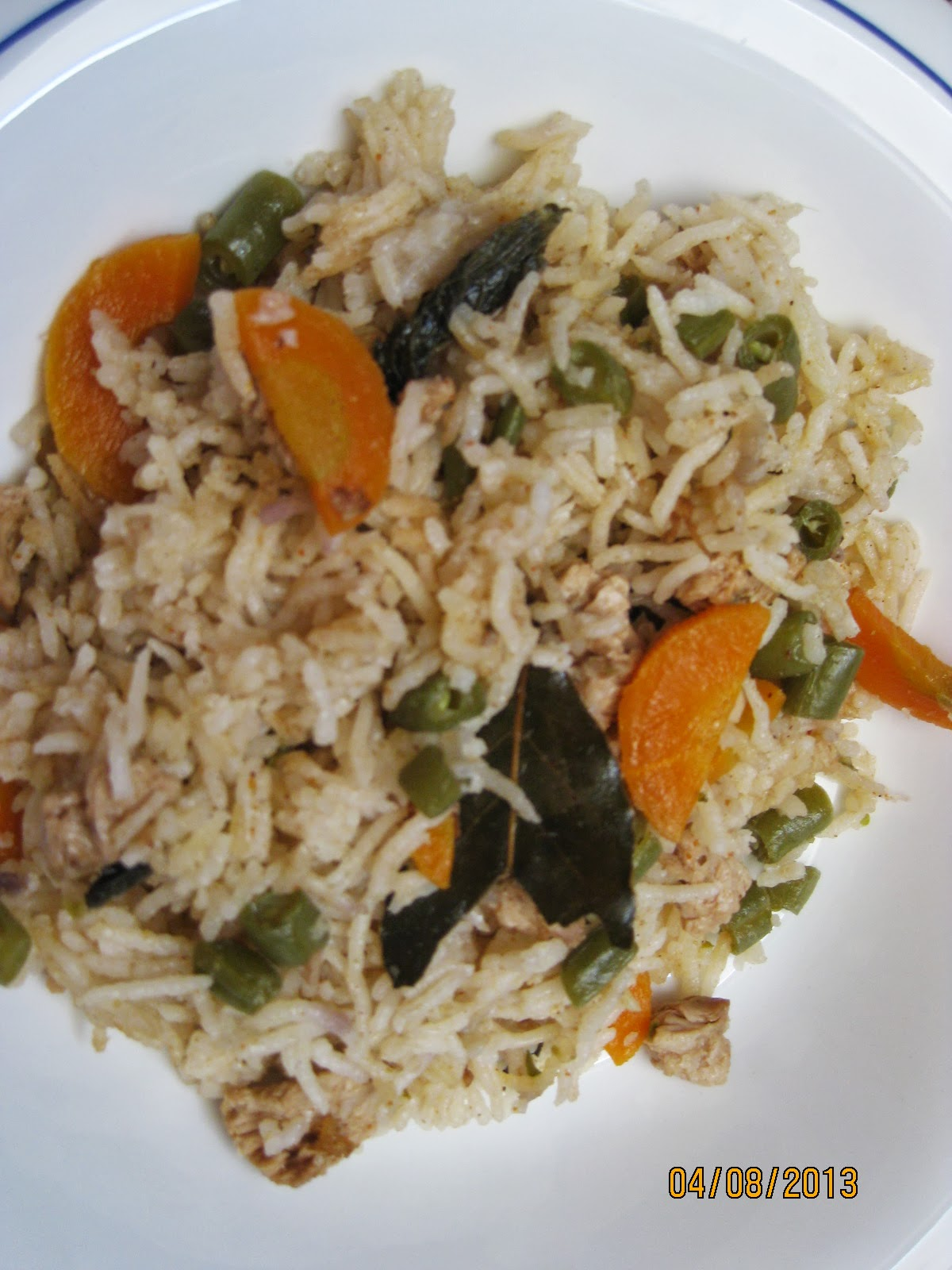 Veg Pulao/Spicy Indian Vegetable Rice