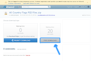 How to Download any File from 4 Shared Tutorial