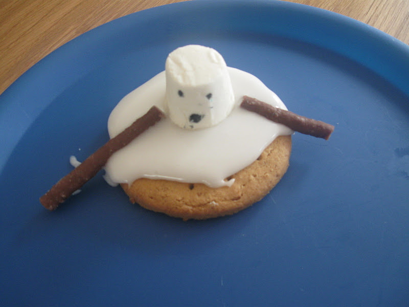 Melting Snowman Biscuits Pre School Play