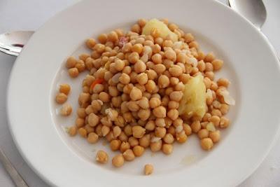 Garbanzo de cocido en Bodegas Habla. Blog Esteban Capdevila