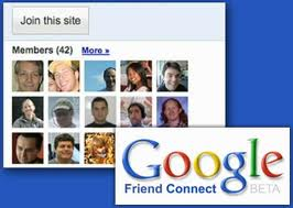 pasang google friend connect