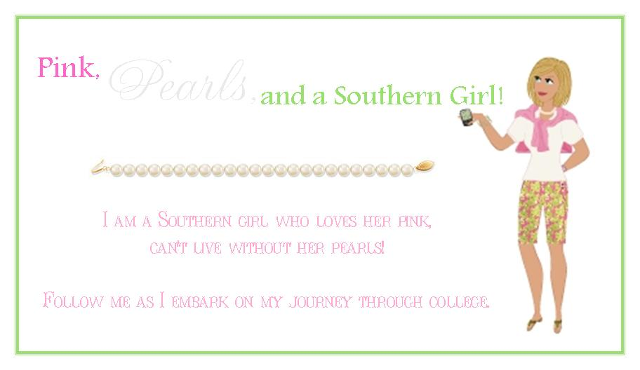 Pink, Pearls, and a Southern Girl