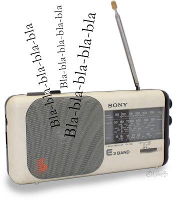 Min gamla Sony ICF 760-L från 1989.