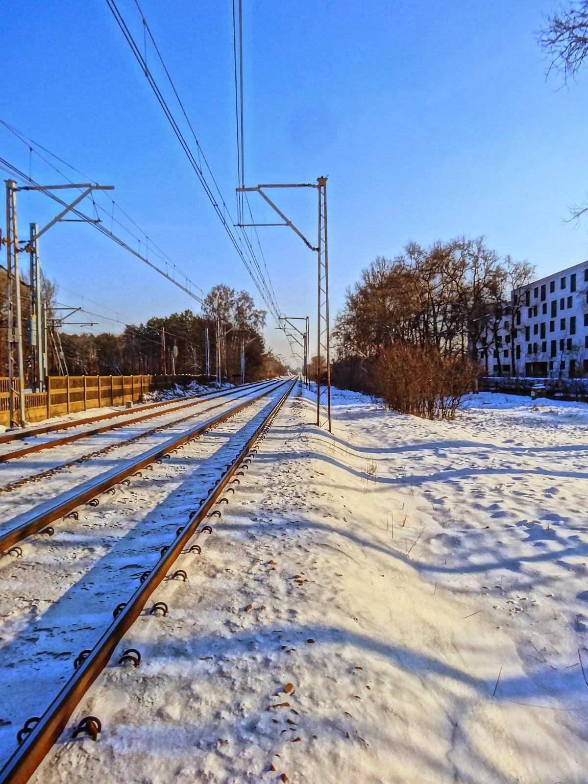 Torowisko linii kolejowej nr 7