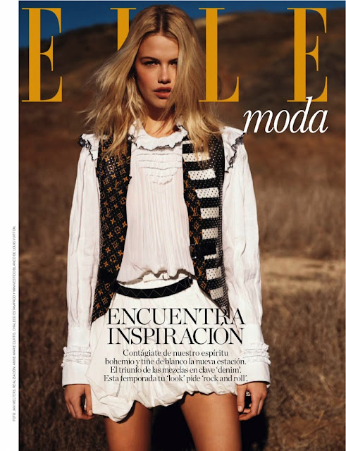 Fashion Model, @ Hailey Clauson - Elle Spain, February 2016