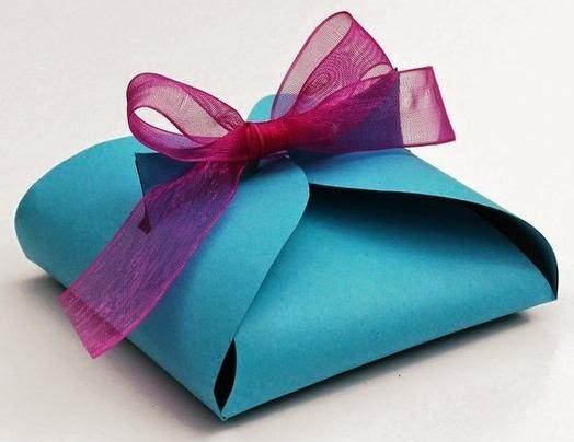 Cajitas de regalo con moldes para niños ~ Solountip.com