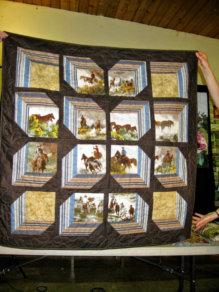 Walk On The Wool Side Panel Quilts With Interesting Borders