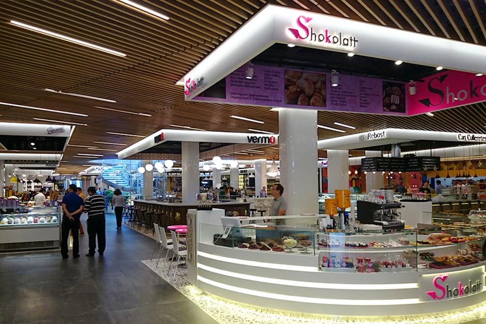 El mercat de glories nuevo espacio gastron mico en for El mercat de les glories