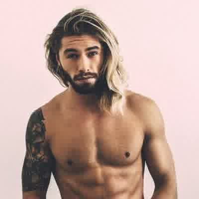 long hair men handsomemenmodels Long Hairstyles for Men