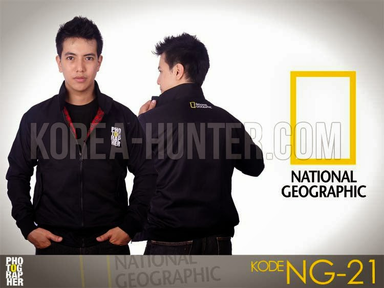 KOREA-HUNTER.com jual murah Jaket National Geographic - Photographer | kaos crows zero tfoa | kemeja national geographic | tas denim korean style blazer
