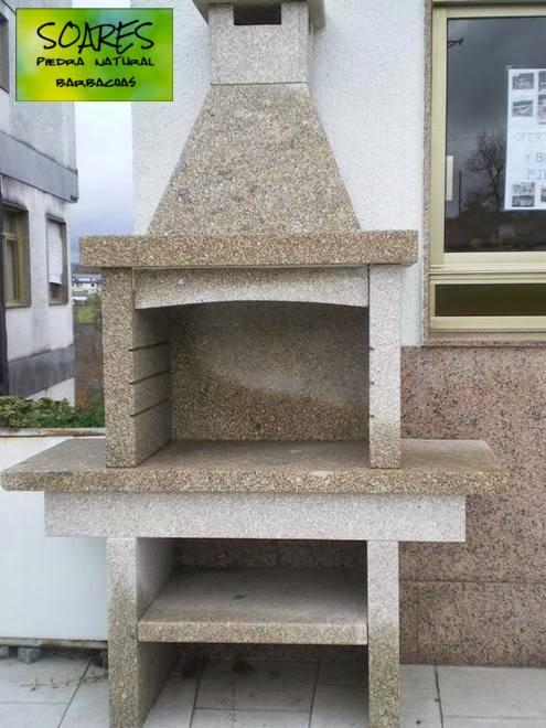 Barbacoas en piedra natural soares revestimientos for Granito en piedra