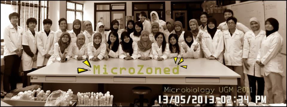 Proud to be a  Microbiologist!