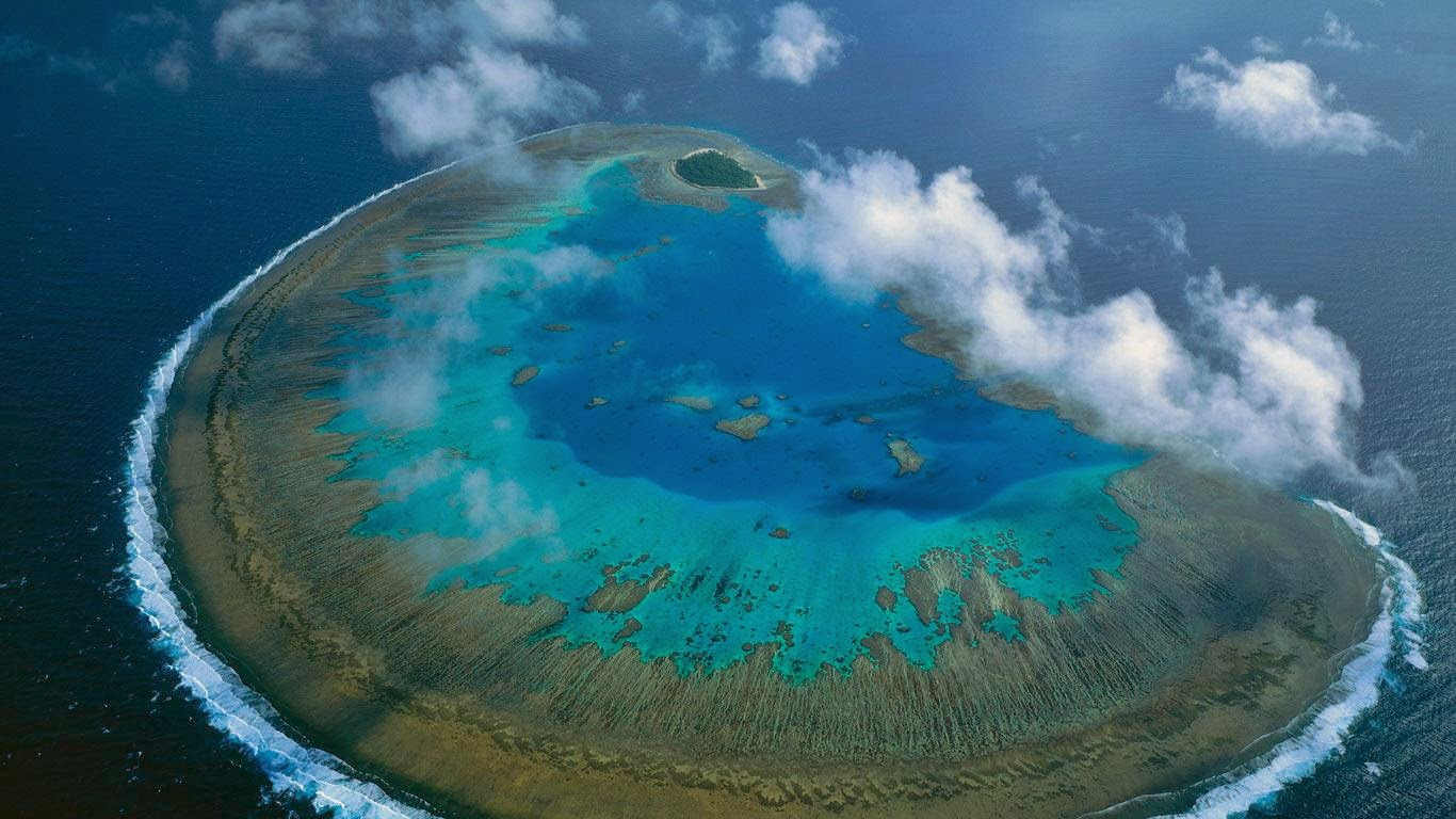 gambar Keajaiban Dunia The Great Barrier Reef