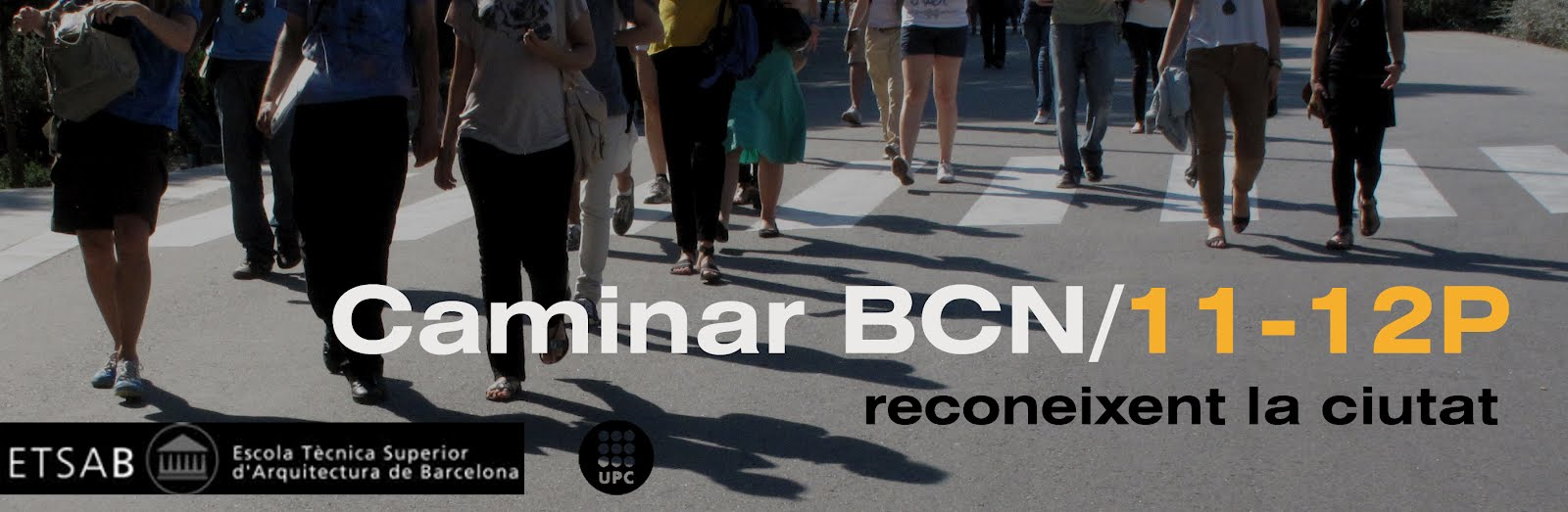 Caminar BCN 2011-12 Primavera