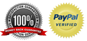 Online Payment via Secure Paypal