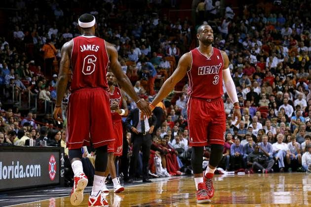 lebron james dwyane wade