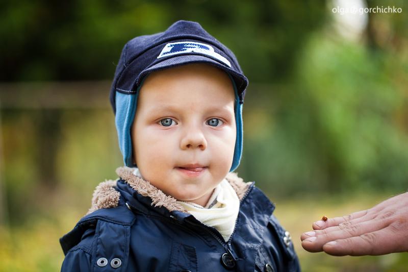 Осенняя фотосессия Назара. Детский фотограф, Гродно