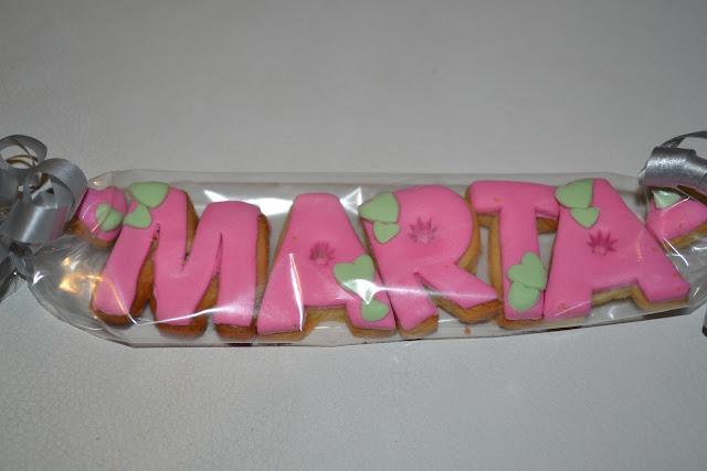 Galletas decoradas Fondant Nombre y edad Gandia Ontinyent Xativa Alcoy  detalle cumpleaños comunion