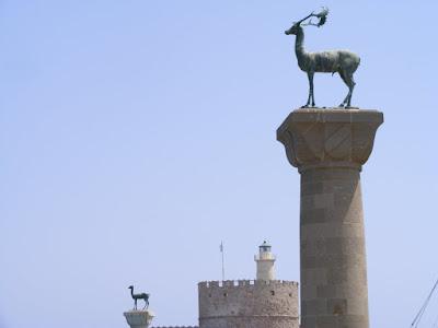 Colosul din Rodos, Rodos, Grecia