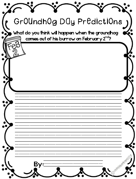 https://www.teacherspayteachers.com/Product/Groundhog-Day-Ready-to-Go-Printables-1670127