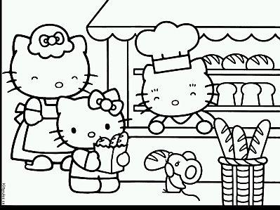 Dibujos De Hello Kitty Para Pintar Parte
