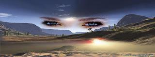 couverture Facebook hd de beaux yeux