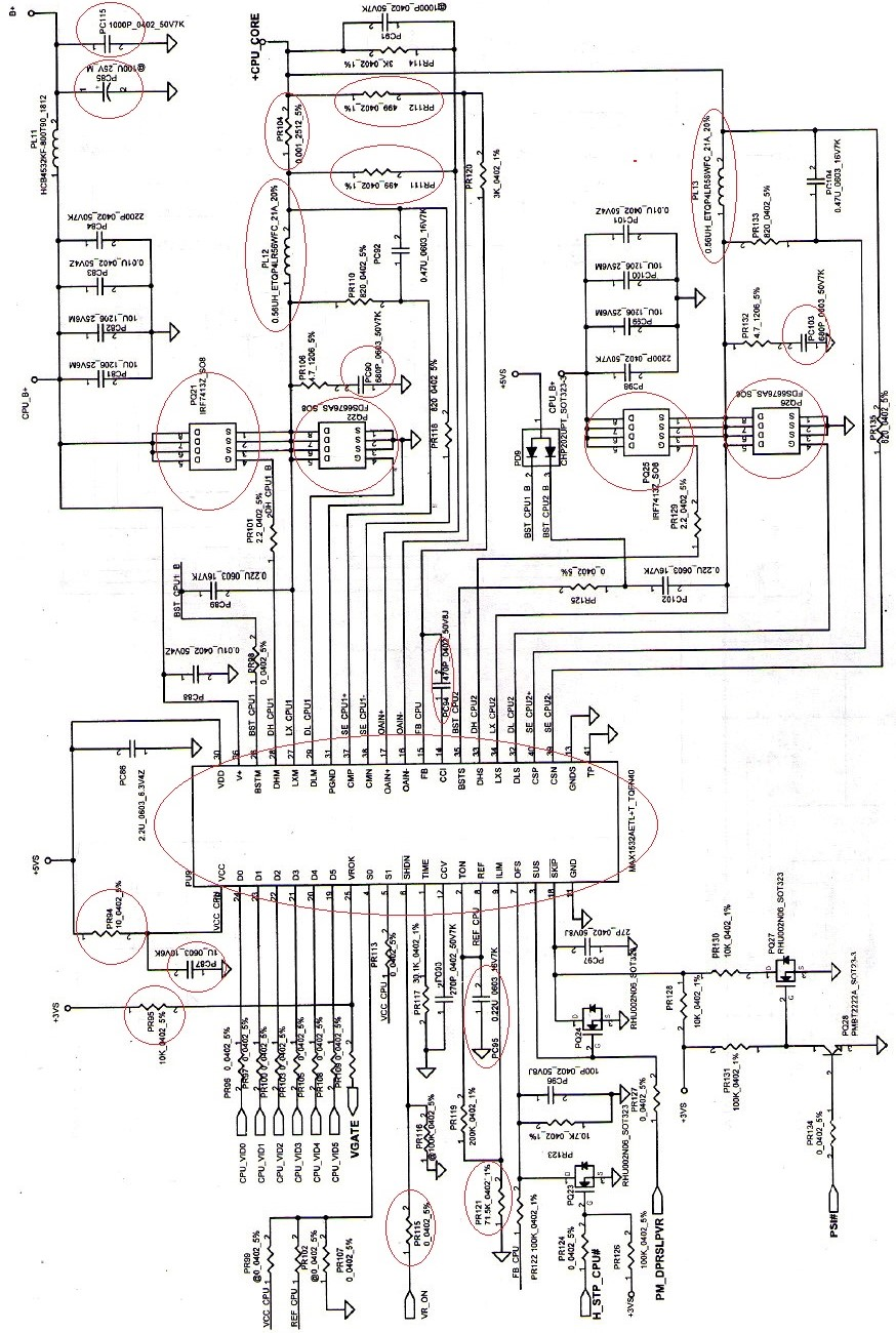 histar\'s Blogger: HP 500 Laptop Power Supply For CPU Diagram And ...