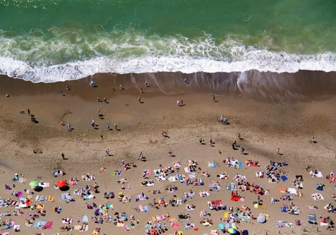 ocean beach with water aerial maison gray 660x462