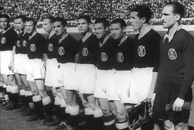 Equipo de fútbol de España en 1945