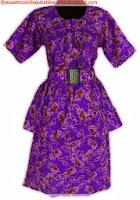 model baju batik modern resmi