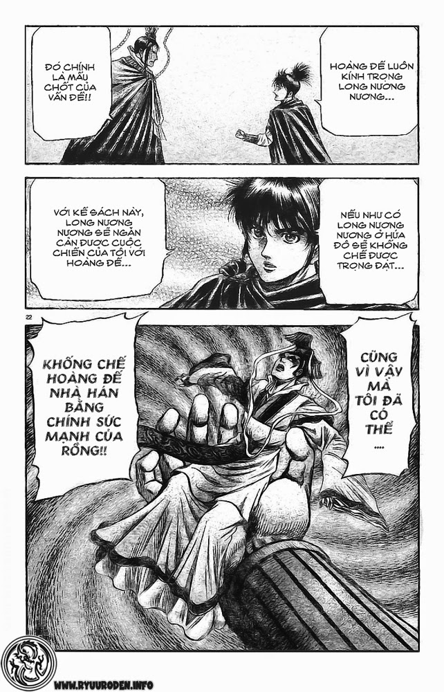 Chú Bé Rồng - Ryuuroden chap 173 - Trang 22