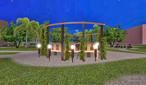 diseño 1 parque ecologico iluminacion noche foto 5