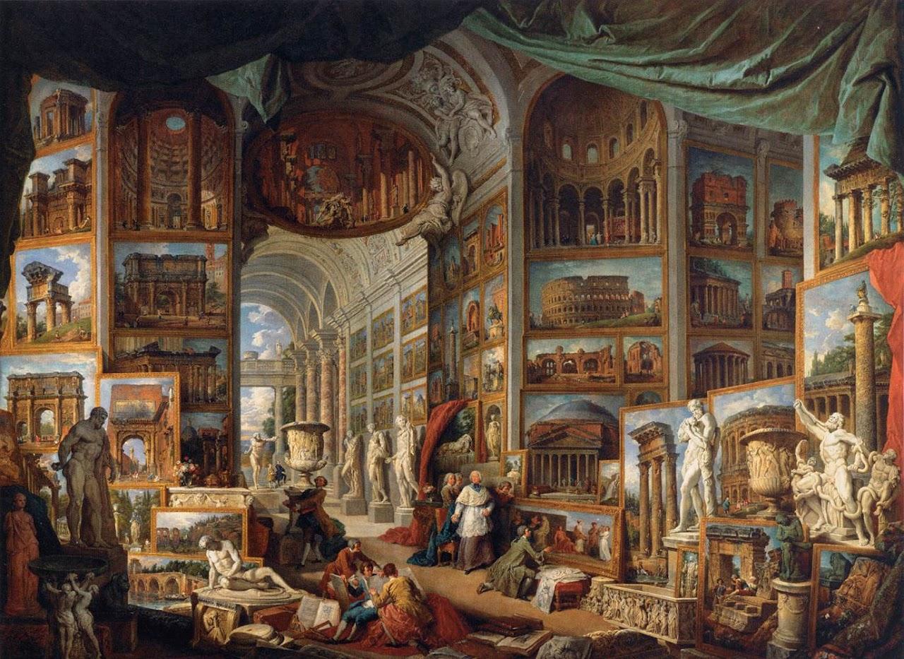 http://4.bp.blogspot.com/-4gzoO52OBEg/T0aIfQQGSlI/AAAAAAAAATc/UogEqgsL-6o/s1280/Pannini,+Giovanni+Paolo+-+1758,+Galleria+di+quadri+con+viste+dell%E2%80%99antica+Roma,+Louvre.jpg