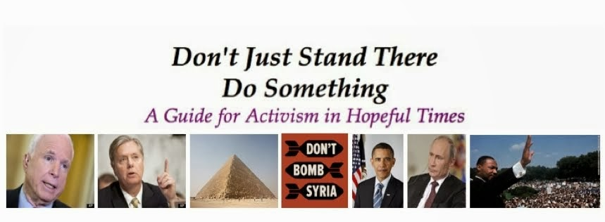 Don't Just Stand There, Do Something