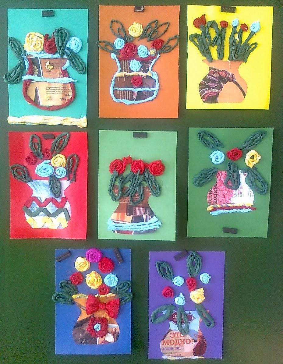Бумажные картины из салфеток своими руками