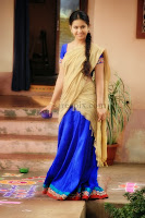 Avika-gor-half-saree-Uyyala-jampala-movie