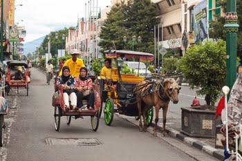 Becak and Andong