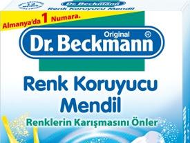 Dr. Beckmann Renk Koruyucu Mendillerle Artık Renkli ve Beyazlarımızı Birlikte Yıkayabiliyoruz