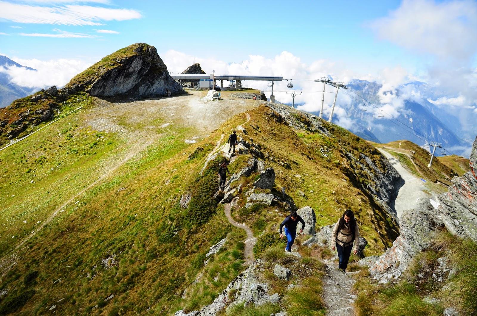 Verbier lac des Vaux randonnée hiking
