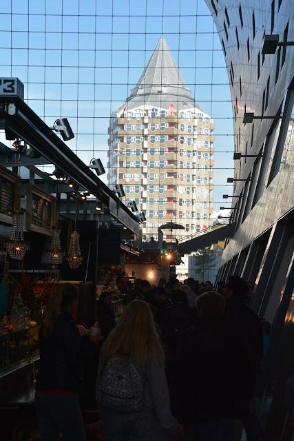 Markthal Rotterdam tower