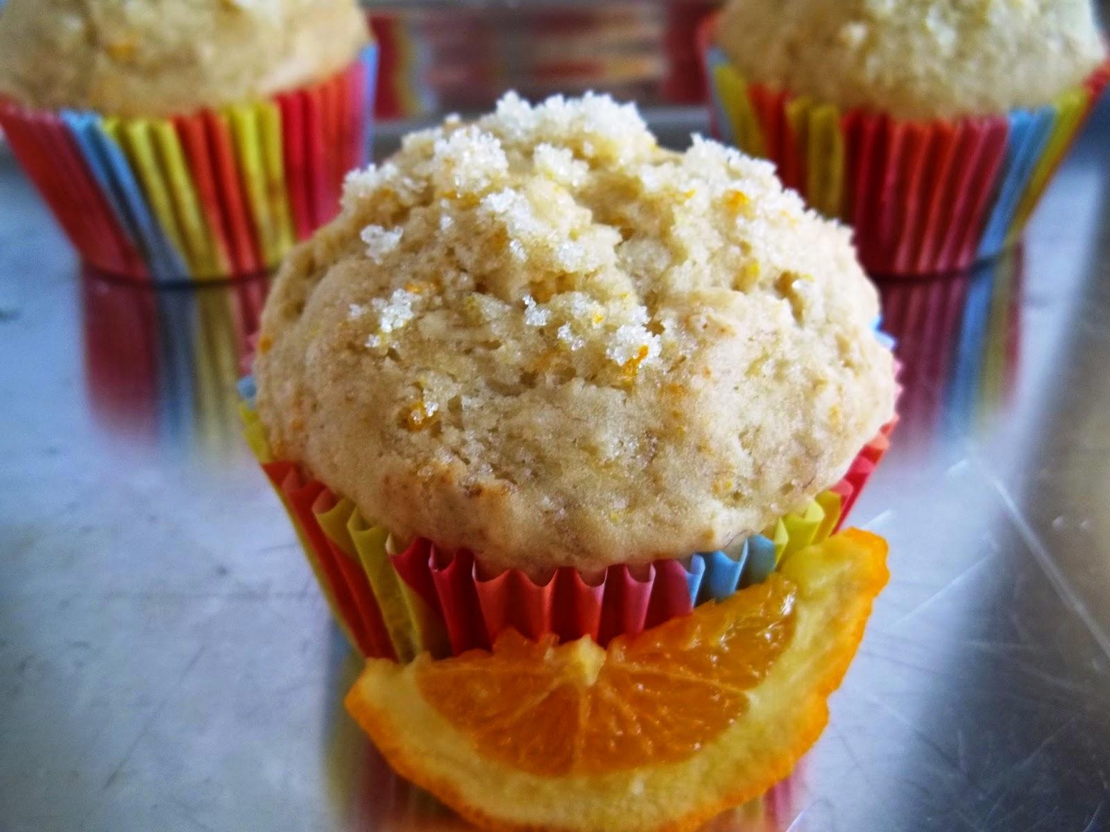 Banana Orange Honey Muffins