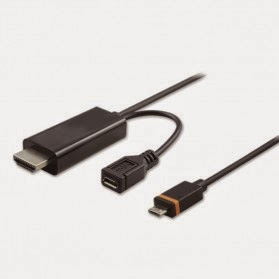 Micro USB to HDMI (+ Micro Usb Female)