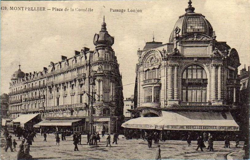 Nouvelle Ville Plein De Magasin Paris