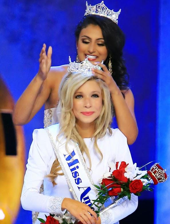 Miss America Kira Kazantsev LIVE