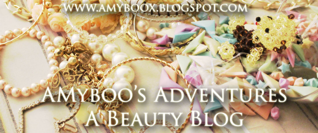 *☆~Amyboo's Adventures: A Beauty Blog~☆*