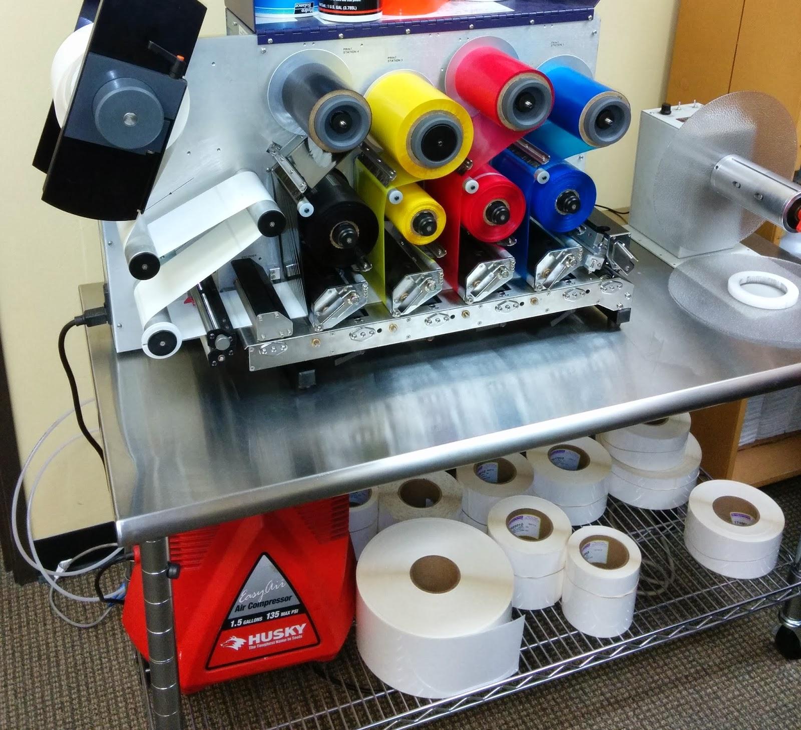 Thermal Transfer Color Printer