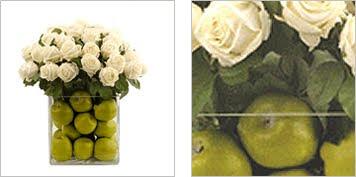Roses Vase - Apple